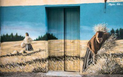 Placanica e i murales che non ti aspetti