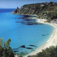Capo Vaticano beach