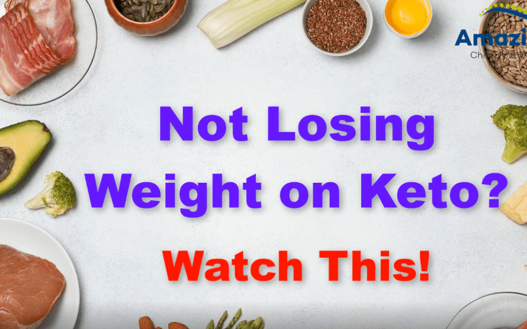 Trouble Losing Weight on Keto?