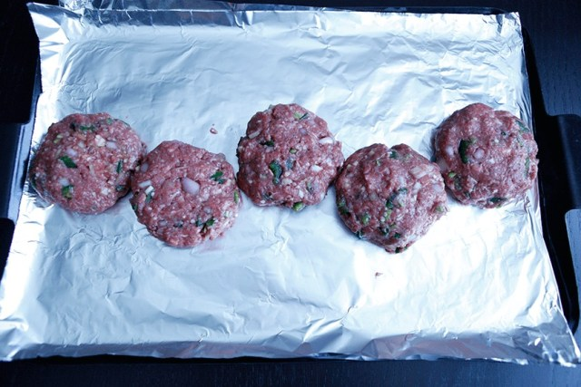 Spicy Bison Burgers