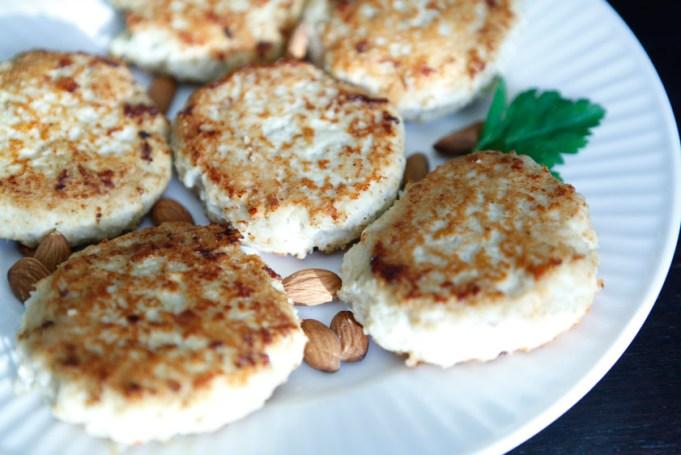 Coconut Almond Chicken Patties