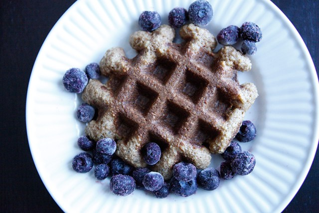 Almond and Coconut Waffles