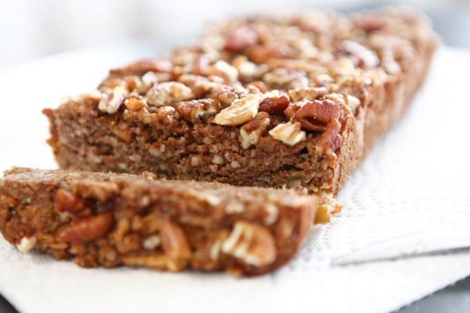 Apple Cinnamon Paleo Bread