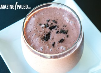 Paleo Cocoa Recovery Smoothie