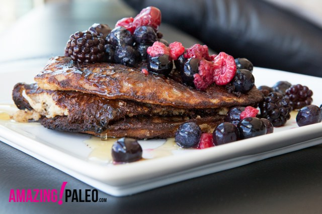 Simple Paleo Pancakes