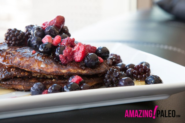 29 Paleo Treat Recipes- Simple Paleo Pancakes
