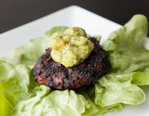 Paleo Bison Burgers with Guacamole recipe