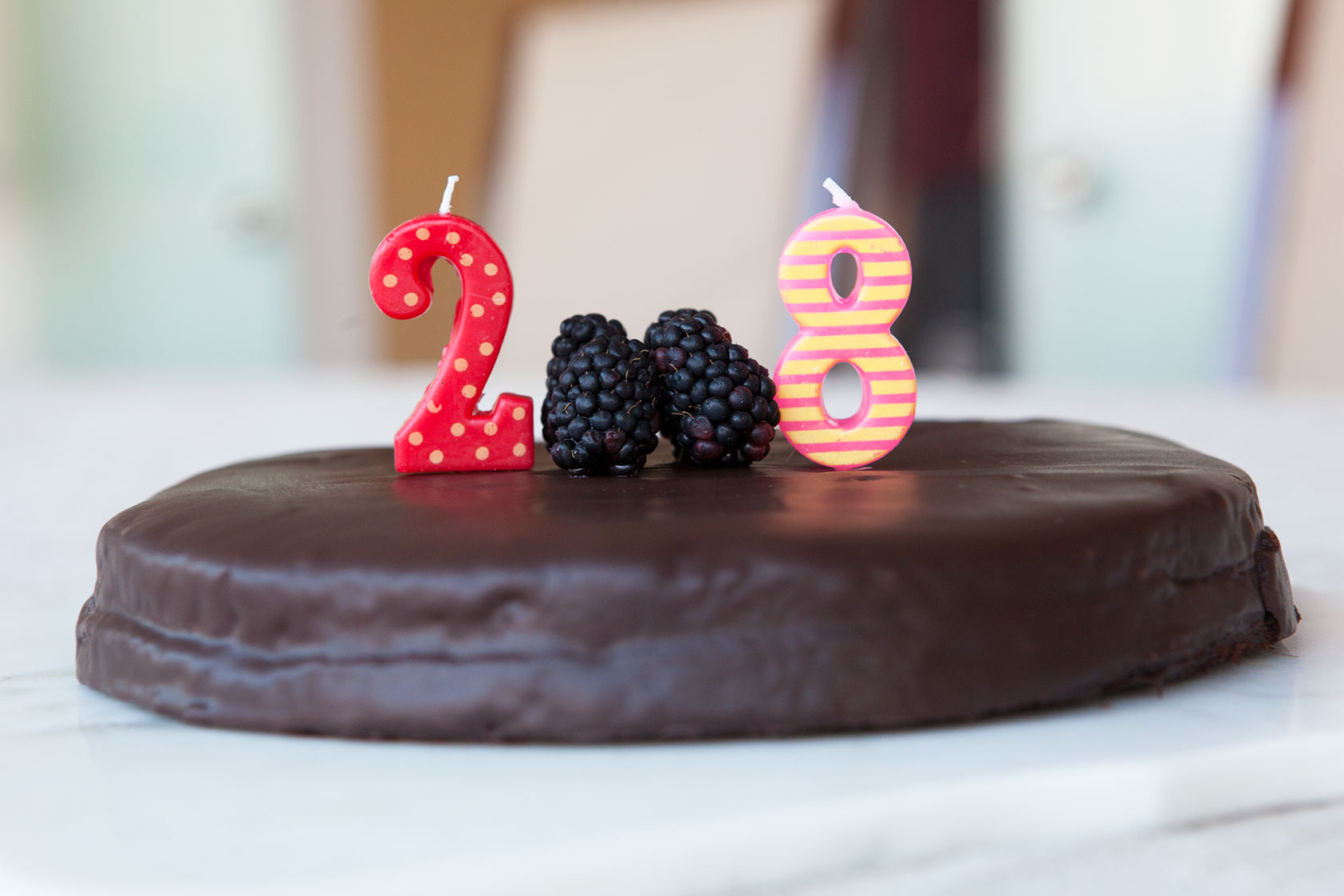 Nut Free Chocolate Birthday Cake - by AmazingPaleo.com