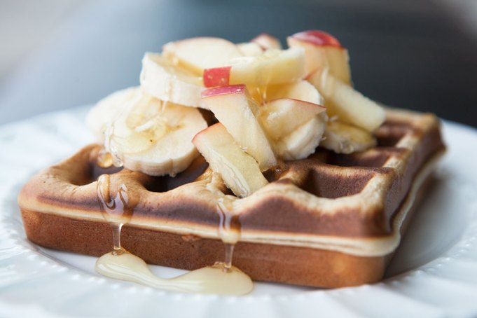 Fluffy Protein Powder Waffles
