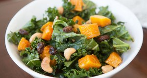 Roasted Butternut Squash Kale Salad