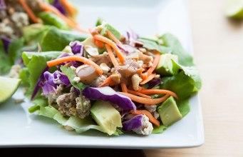 Turkey Thai Lettuce Wraps