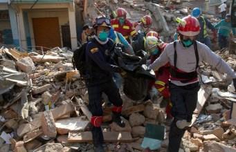 Devastating Earthquake in Ecuador