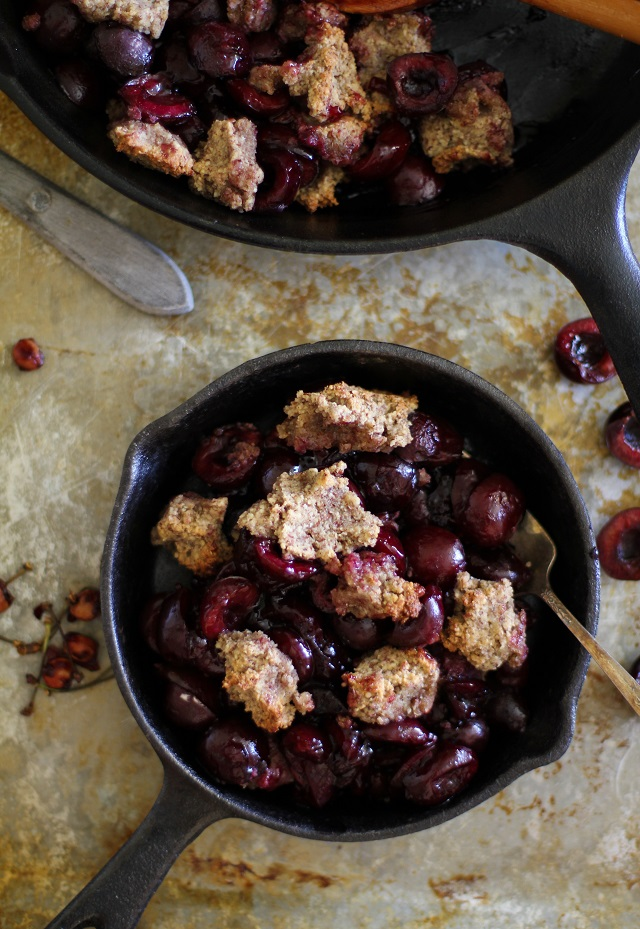 Grain-Free Cherry Crumble