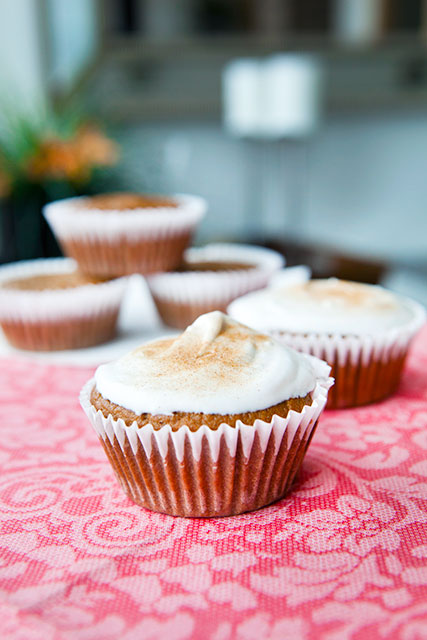 Dirty Chai Paleo Muffins with Cinnamon Sugar and Whipped Cream