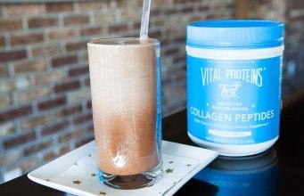 Dark Chocolate Smoothie with Collagen Peptides