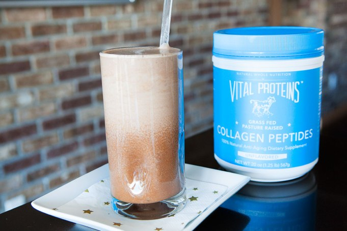 Dark Chocolate Smoothie with Collagen Peptides