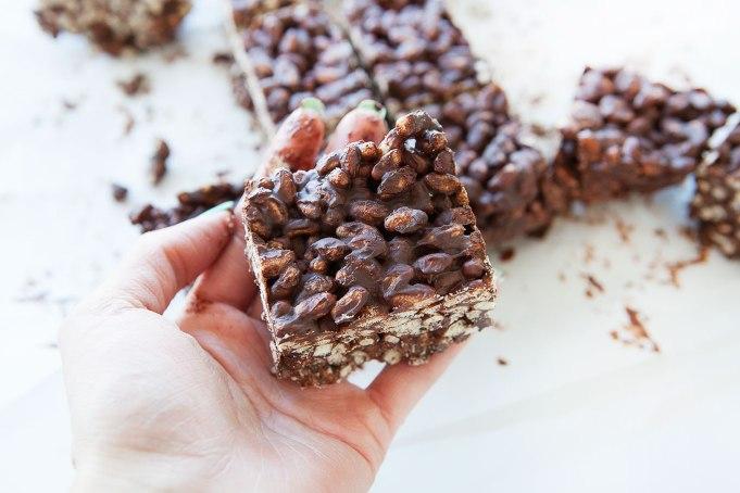 Gluten-Free Dark Chocolate Rice Krispies