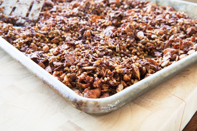 Buckwheat Cacao Granola (Gluten-Free!)