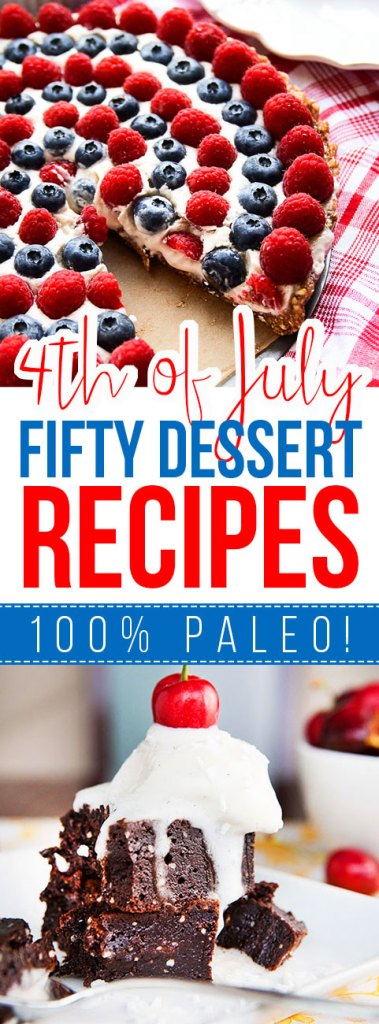 Fifty 4th of July Dessert Recipes