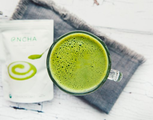 Frothy Matcha Latte