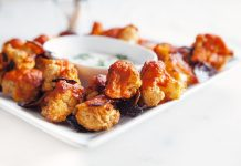 Spicy Cauliflower Buffalo Wings