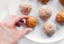 Coconut Cardamom Bliss Balls