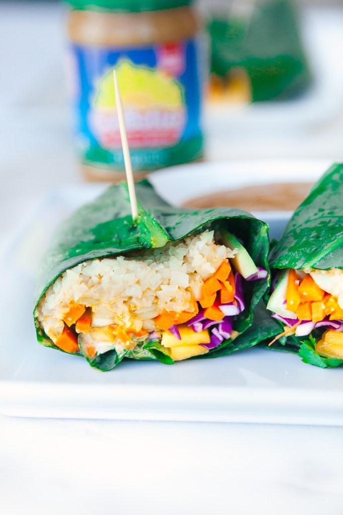Thai Veggie Wraps