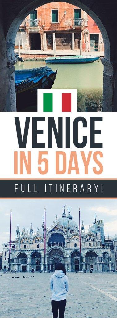 Venice in 5 Days