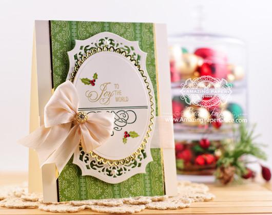 Christmas Card Making Ideas By Becca Feeken Using Amazing