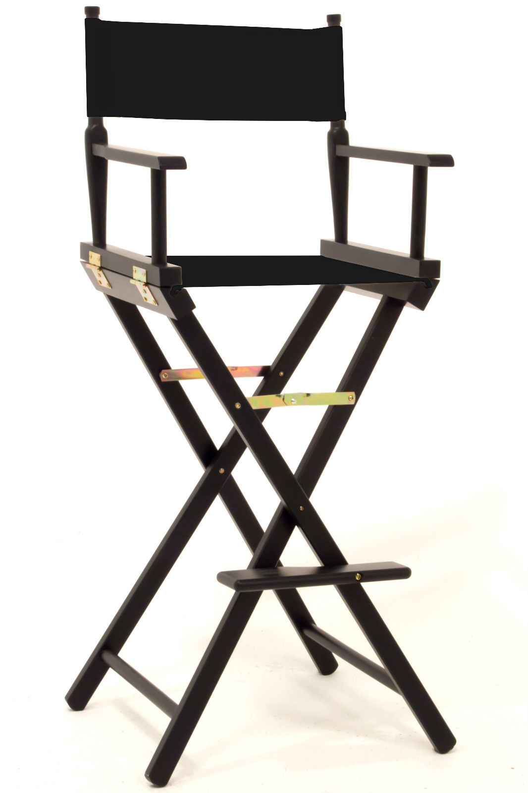 counter height directors chair stool model hollywood themed props for parties and events