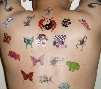 Temporary Tattoos, Fake Tattoos are fun