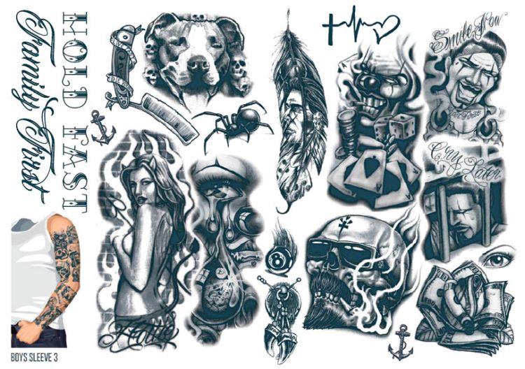 Gangster Tattoo Ideas For Men