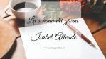 La somma dei giorni, di Isabel Allende