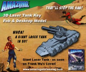 Amazing Stories 3D Giant Laser Tank