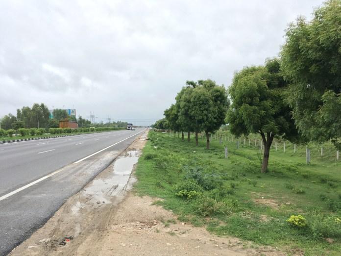Amazing Rainy Day Road