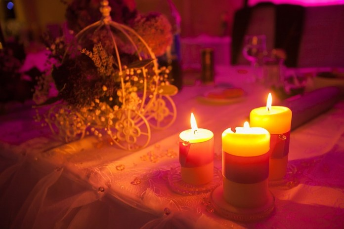 Candle light - Valentine's Day