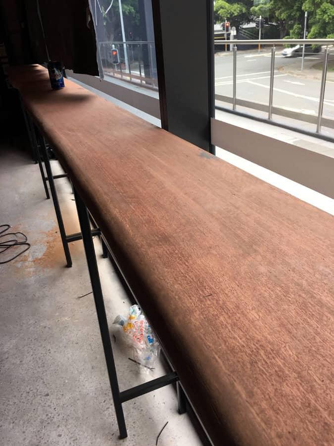Blue Gum Slab Benchtops8 Timber Furniture Sydney