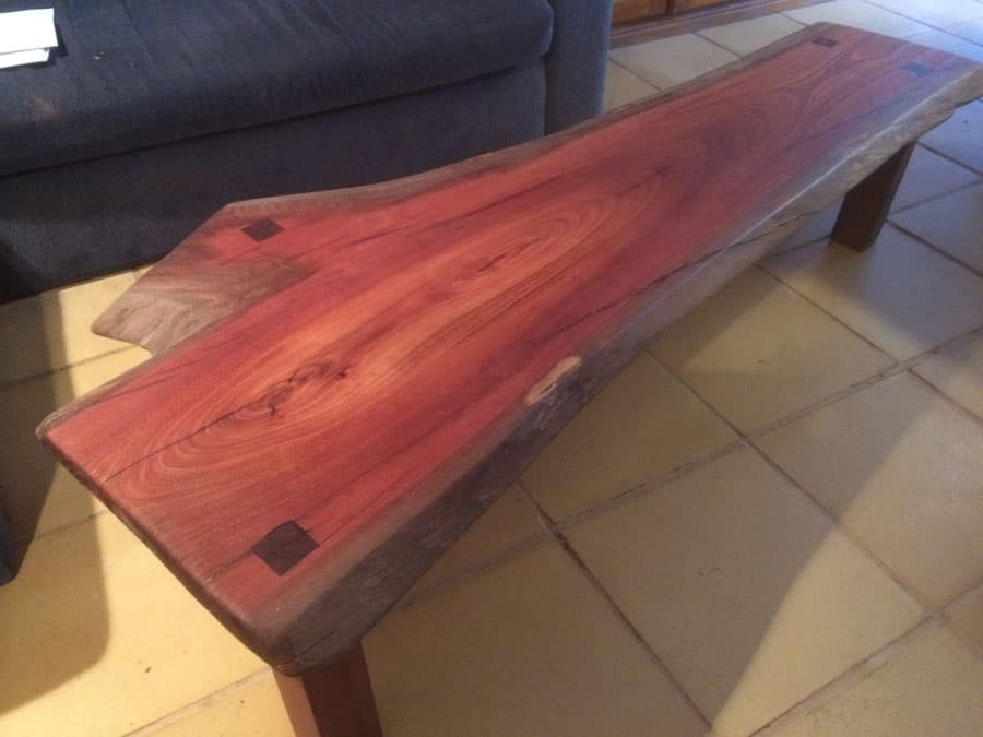Timber Slab Coffee Table