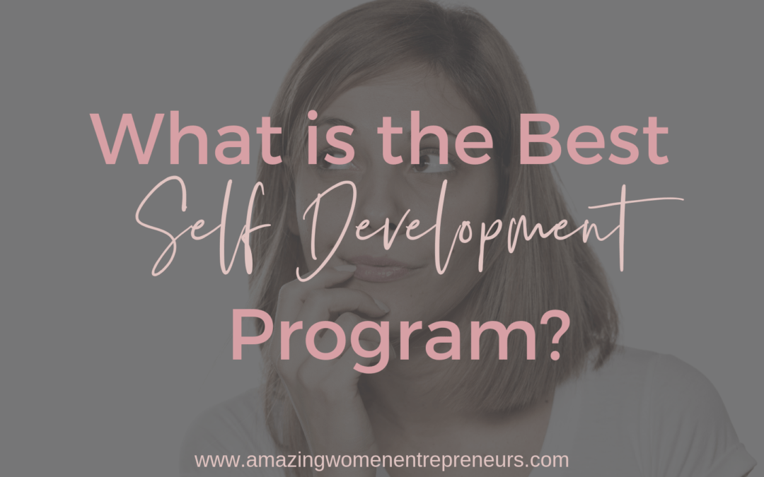 Best Self Improvement Programs