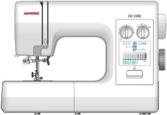 Janome HD2200 for leather