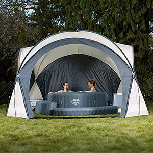 Lazy Spa Dome Tent
