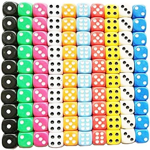 dice math manipulatives for homeschoolers