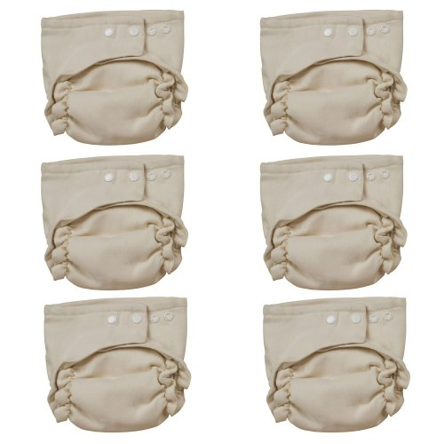 Osocozy Two Sized Unbleached Fitted Diaper