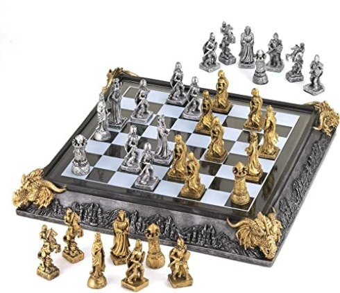 Koehler Medieval Knights Chess Game Set