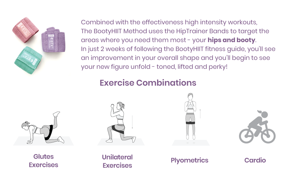 Hip Trainer Resistance Bands Booty Workout
