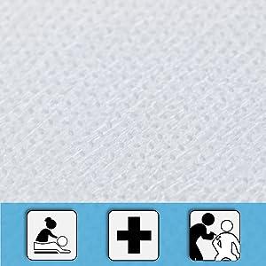papier de massage docteurs rouleaux de draps en lin lit simple massages esthetique medicale doublure
