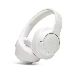 JBL Tune 700BT Over-Ear Wireless Headphones with 27-Hour Playtime, Multi-Point Connection & Quick Charging (White)