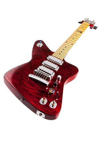 Test Gibson Firebird X Red Volution E Gitarre