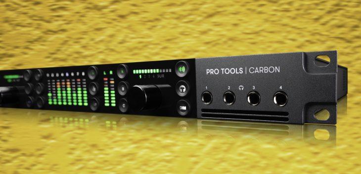 Avids neues Pro Tools Carbon Interface offiziell vorgestellt - AMAZONA.de