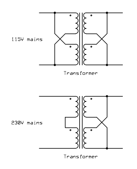 wiring 2 transformers in parallel